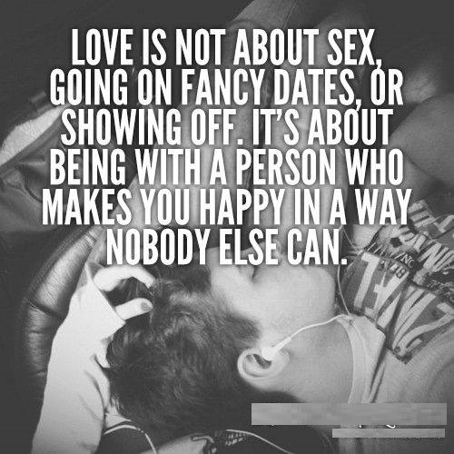 Love is Not About Sex